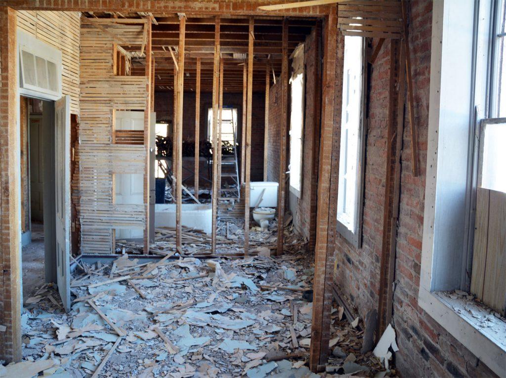 plaster-floor